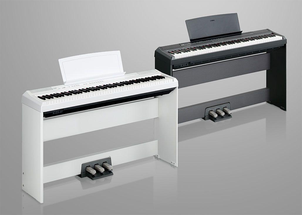 Yamaha p105 digital piano in stock the piano outlet for Yamaha p105 digital piano bundle