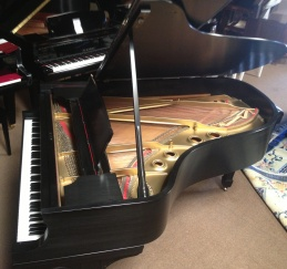 Steinway Ebony Satin REDUCED
